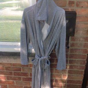 Ermenegildo zegna  hooded bathrobe size large